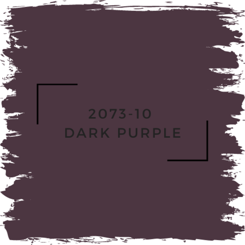 Benjamin Moore 2073-10  Dark Purple
