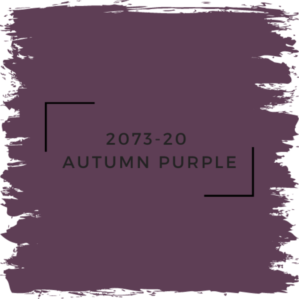Benjamin Moore 2073-20  Autumn Purple