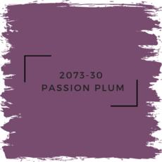 Benjamin Moore 2073-30  Passion Plum