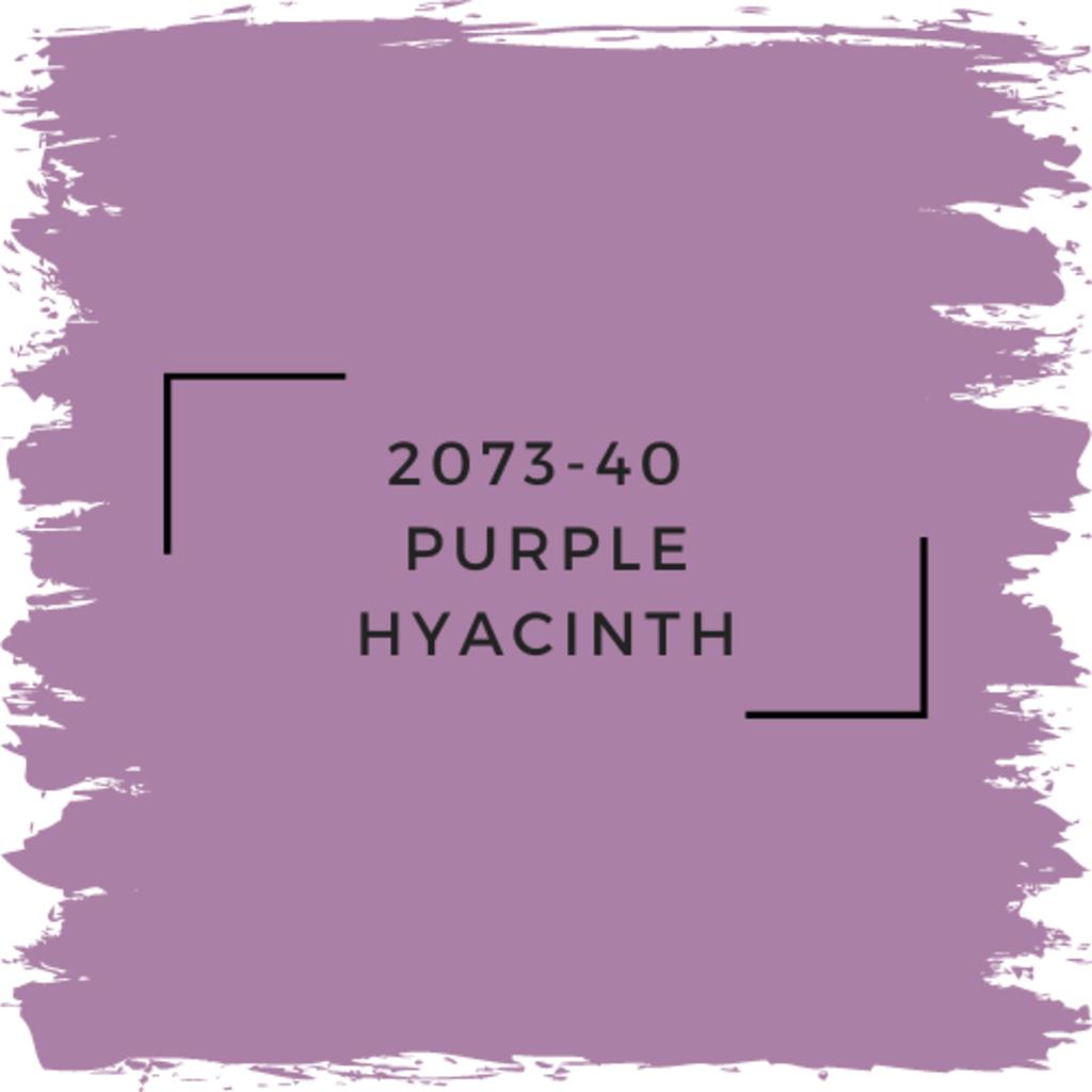 Benjamin Moore 2073-40  Purple Hyacinth