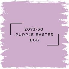 Benjamin Moore 2073-50  Purple Easter Egg