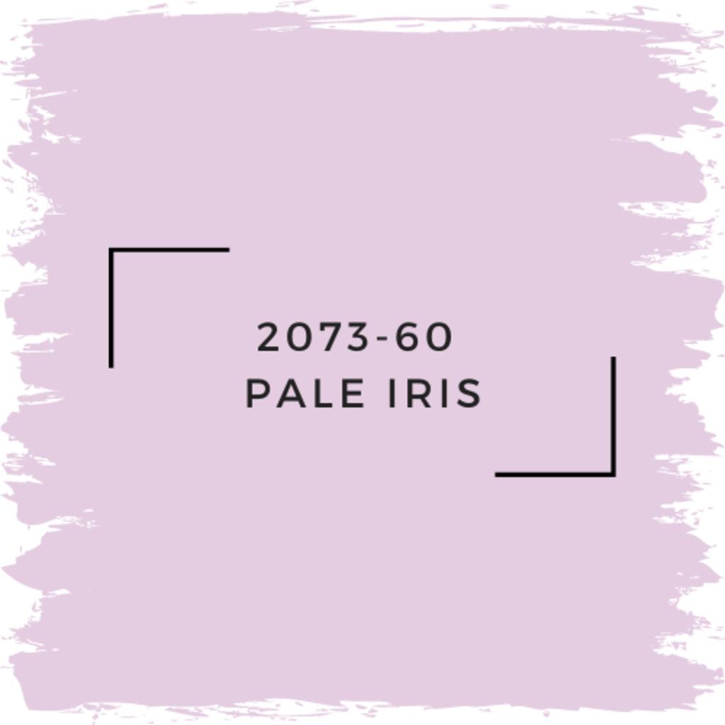 Benjamin Moore 2073-60  Pale Iris