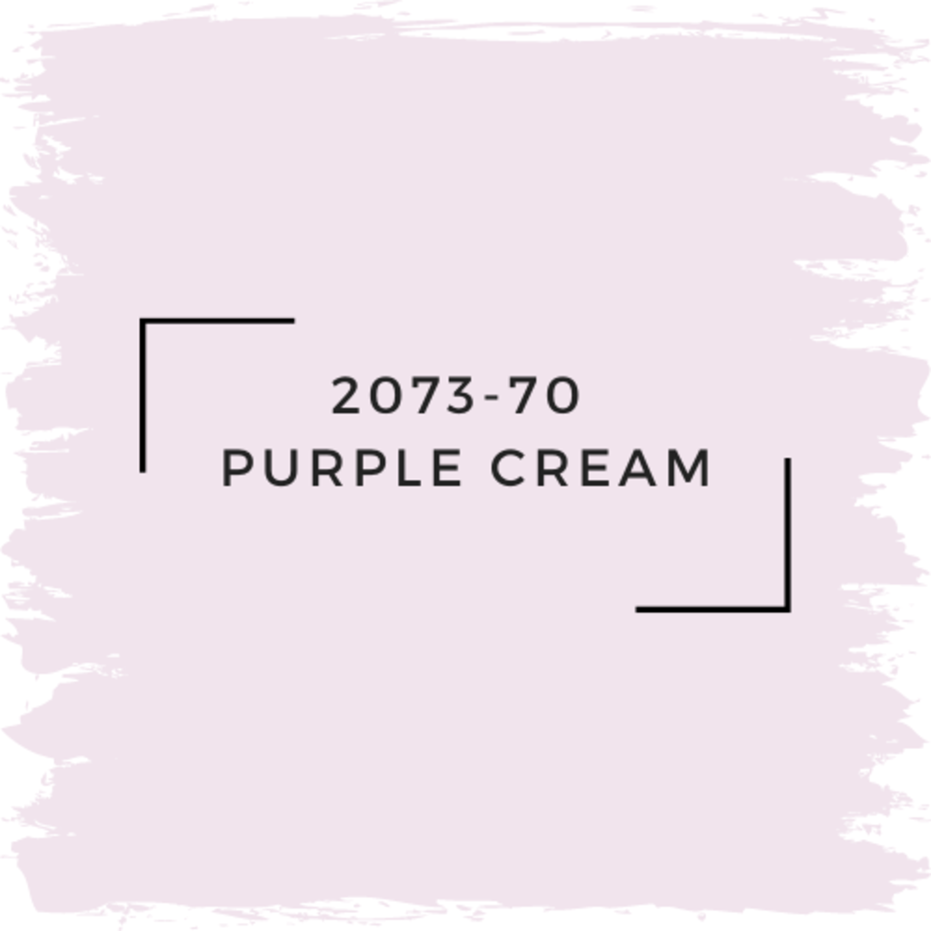 Benjamin Moore 2073-70  Purple Cream