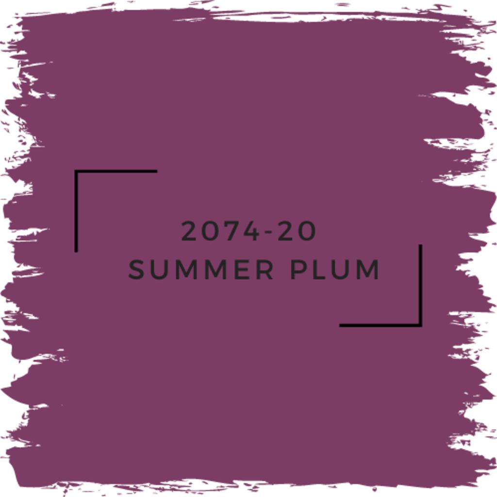 Benjamin Moore 2074-20  Summer Plum