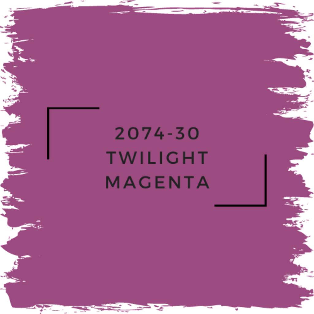 Benjamin Moore 2074-30 Twilight Magenta