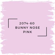 Benjamin Moore 2074-60  Bunny Nose Pink