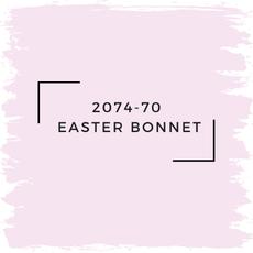 Benjamin Moore 2074-70  Easter Bonnet