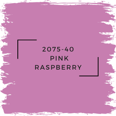 Benjamin Moore 2075-40  Pink Raspberry