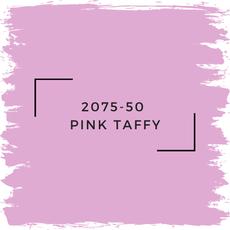 Benjamin Moore 2075-50  Pink Taffy