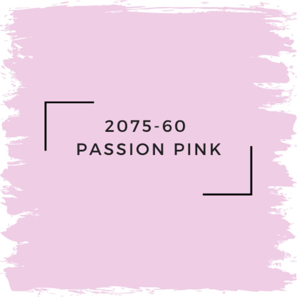 Benjamin Moore 2075-60  Passion Pink