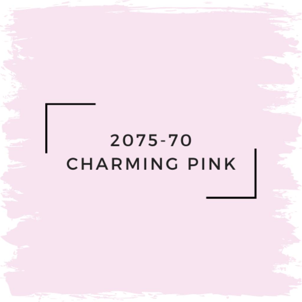 Benjamin Moore 2075-70 Charming Pink