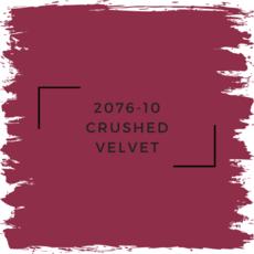 Benjamin Moore 2076-10 Crushed Velvet