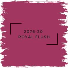 Benjamin Moore 2076-20  Royal Flush