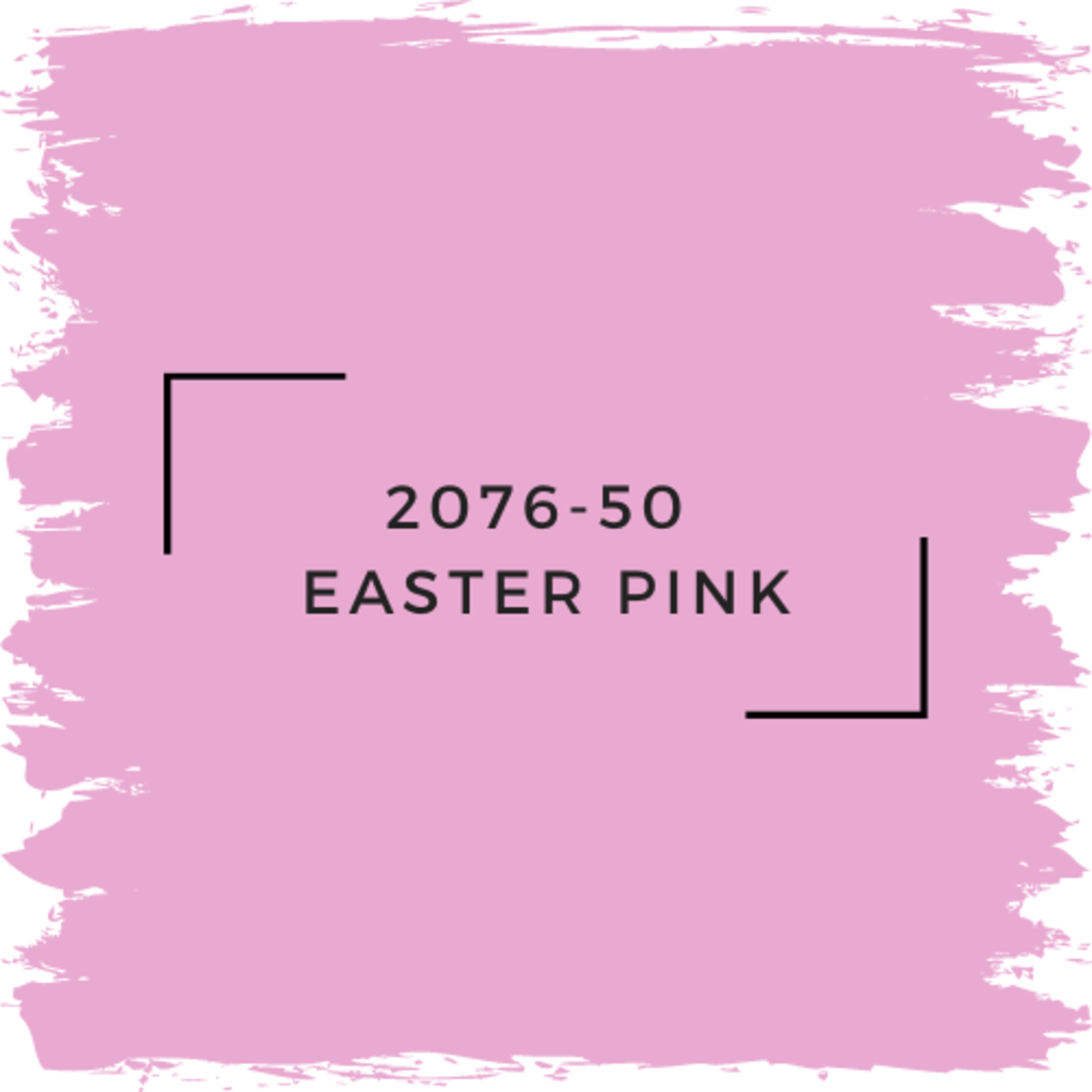 Benjamin Moore 2076-50  Easter Pink