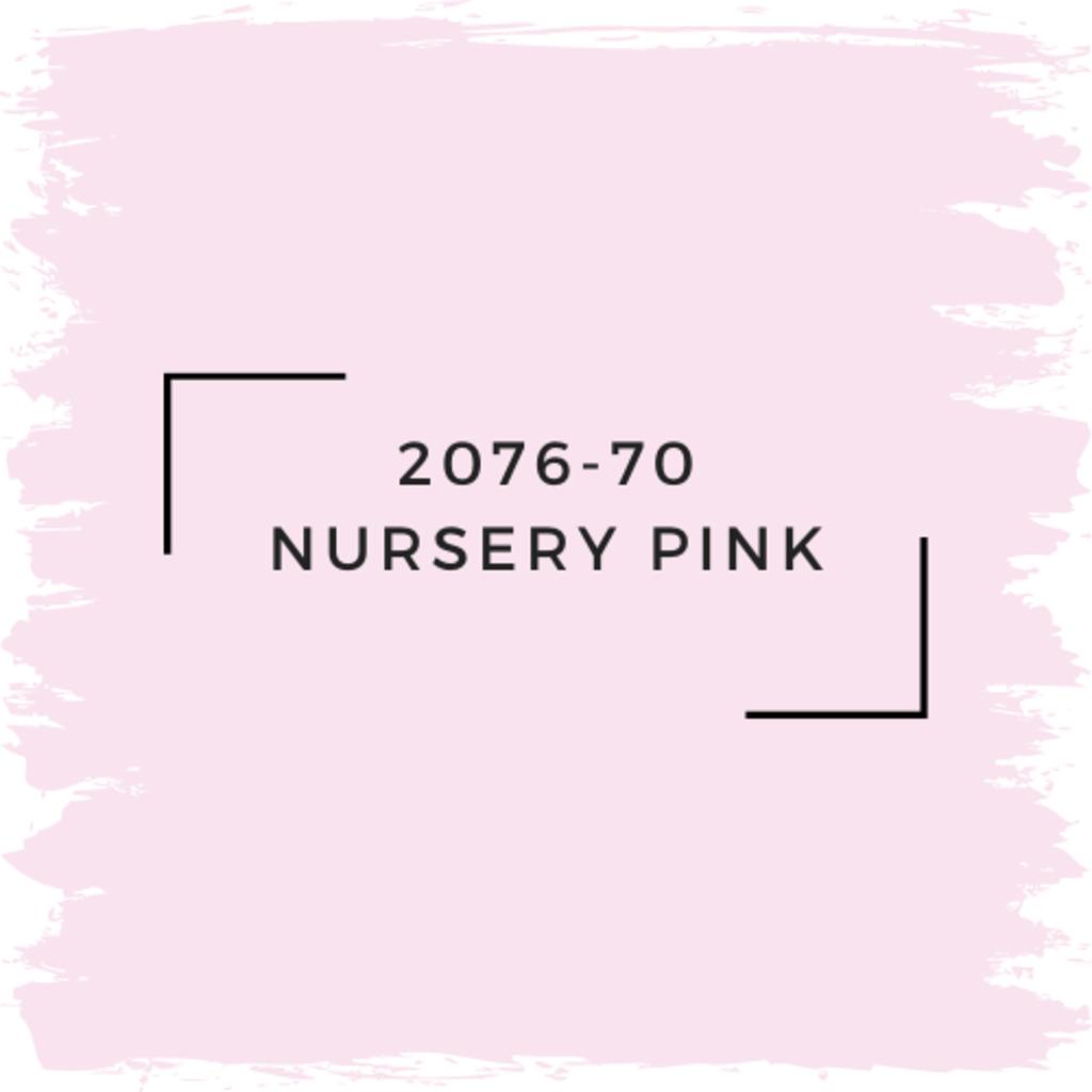 Benjamin Moore 2076-70 Nursery Pink