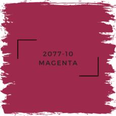 Benjamin Moore 2077-10 Magenta