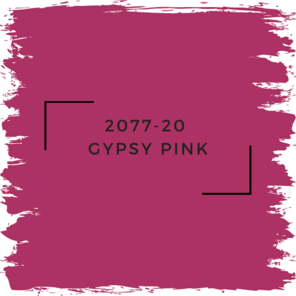 Benjamin Moore 2077-20  Gypsy Pink