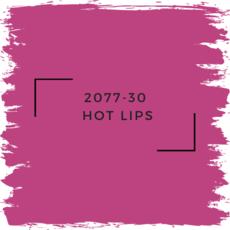 Benjamin Moore 2077-30  Hot Lips