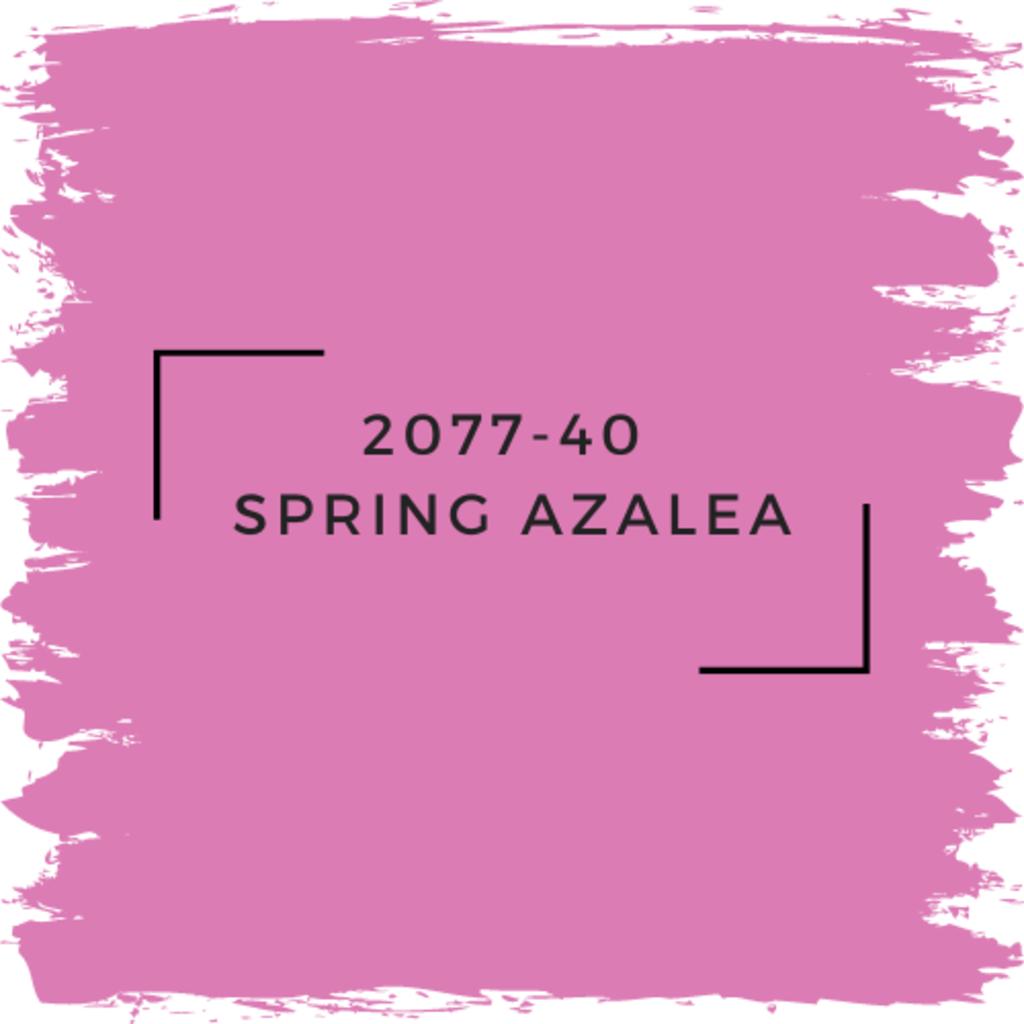 Benjamin Moore 2077-40  Spring Azalea
