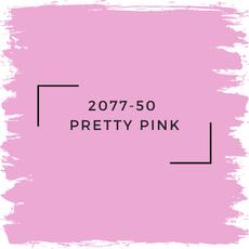 Benjamin Moore 2077-50  Pretty Pink