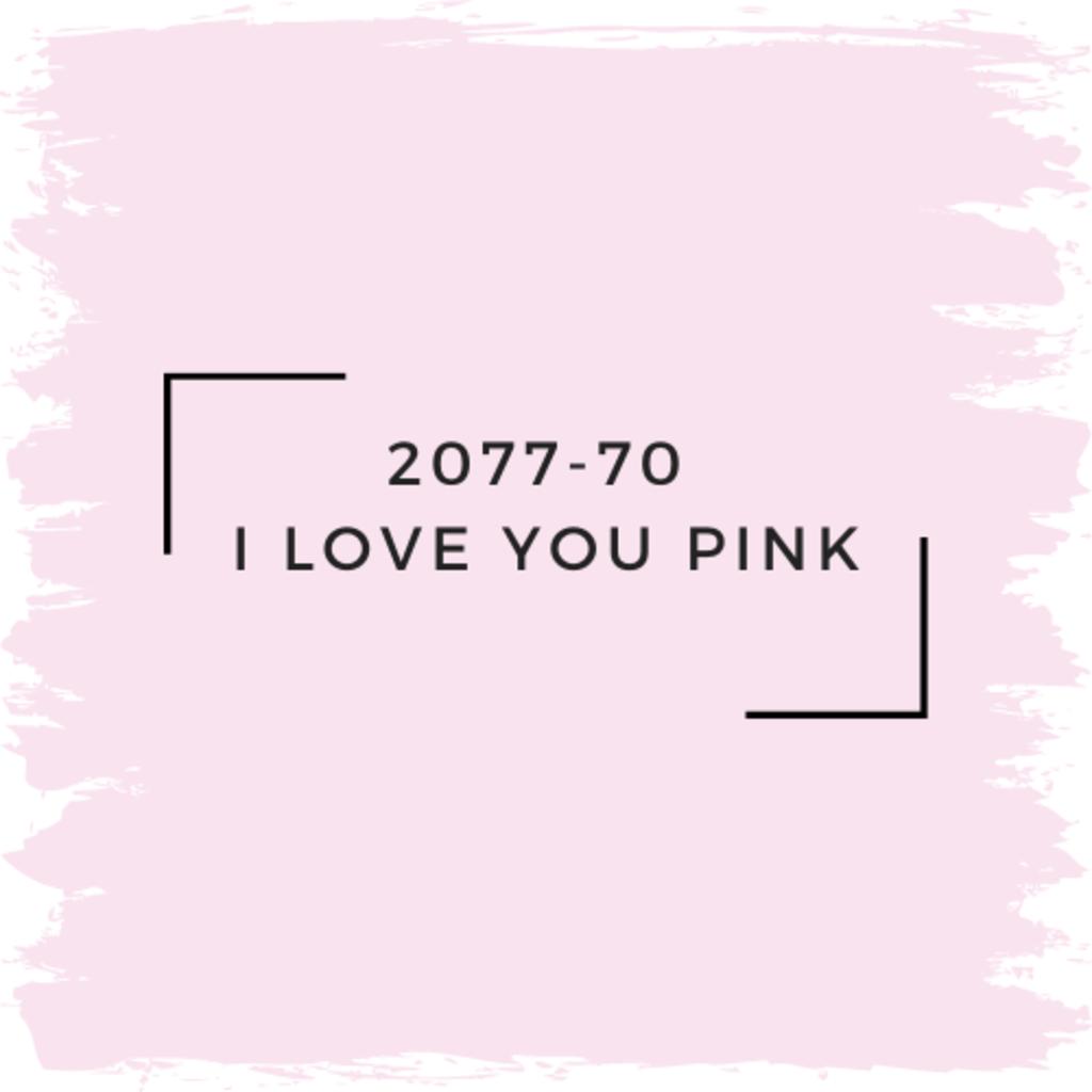 Benjamin Moore 2077-70  I Love You Pink
