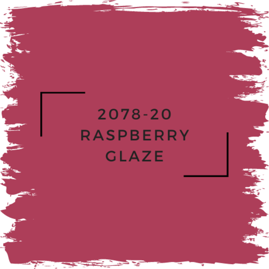 Benjamin Moore 2078-20 Raspberry Glaze