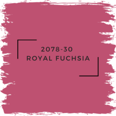 Benjamin Moore 2078-30  Royal Fuchsia