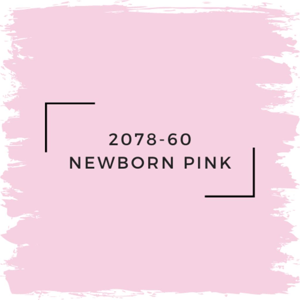 Benjamin Moore 2078-60 Newborn Pink