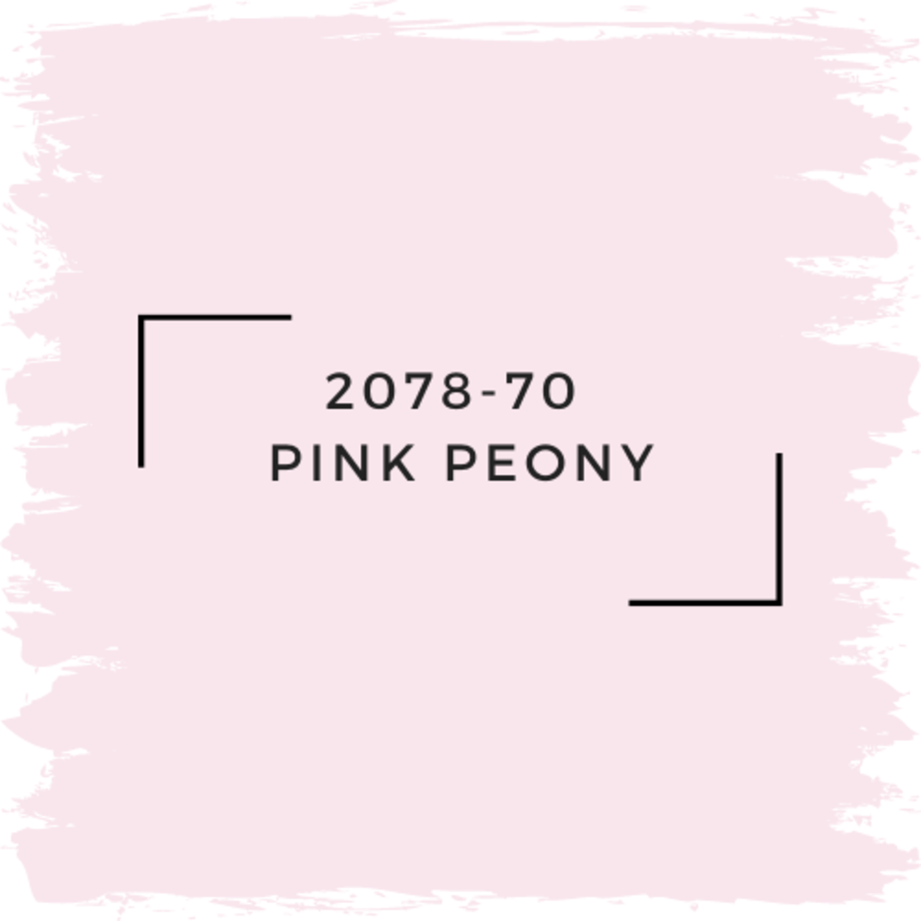 Benjamin Moore 2078-70  Pink Peony