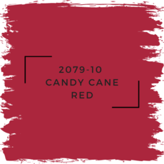 Benjamin Moore 2079-10  Candy Cane Red
