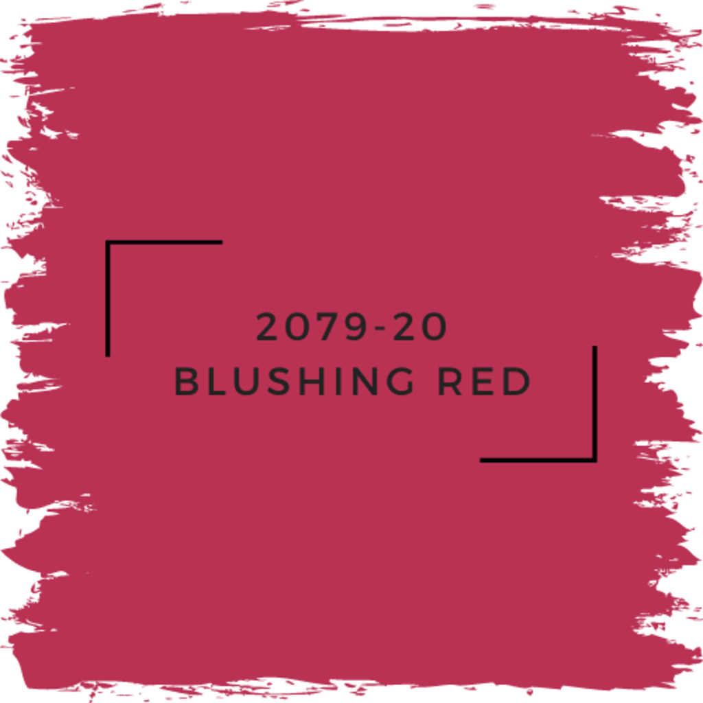 Benjamin Moore 2079-20 Blushing Red