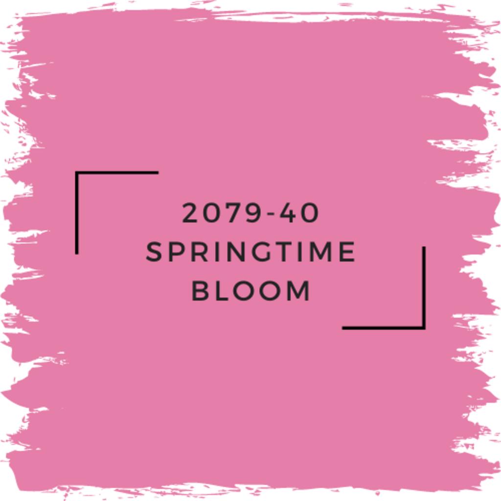Benjamin Moore 2079-40 Springtime Bloom