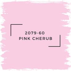Benjamin Moore 2079-60  Pink Cherub