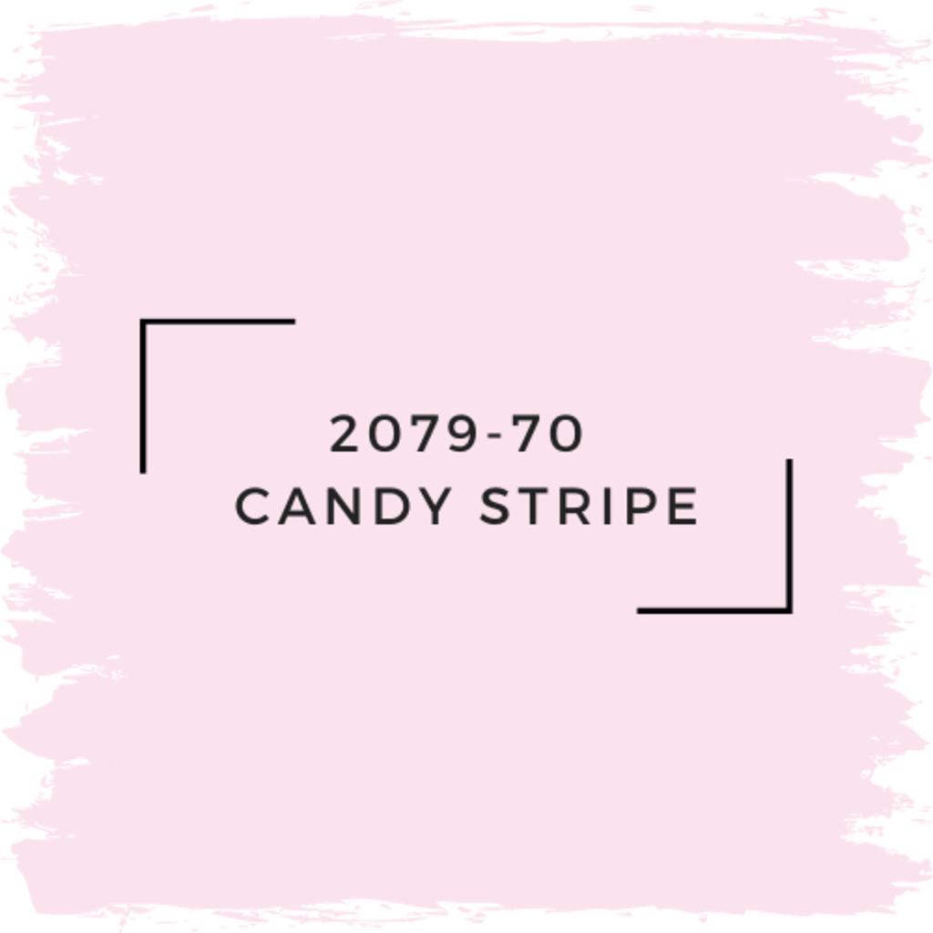 Benjamin Moore 2079-70  Candy Stripe