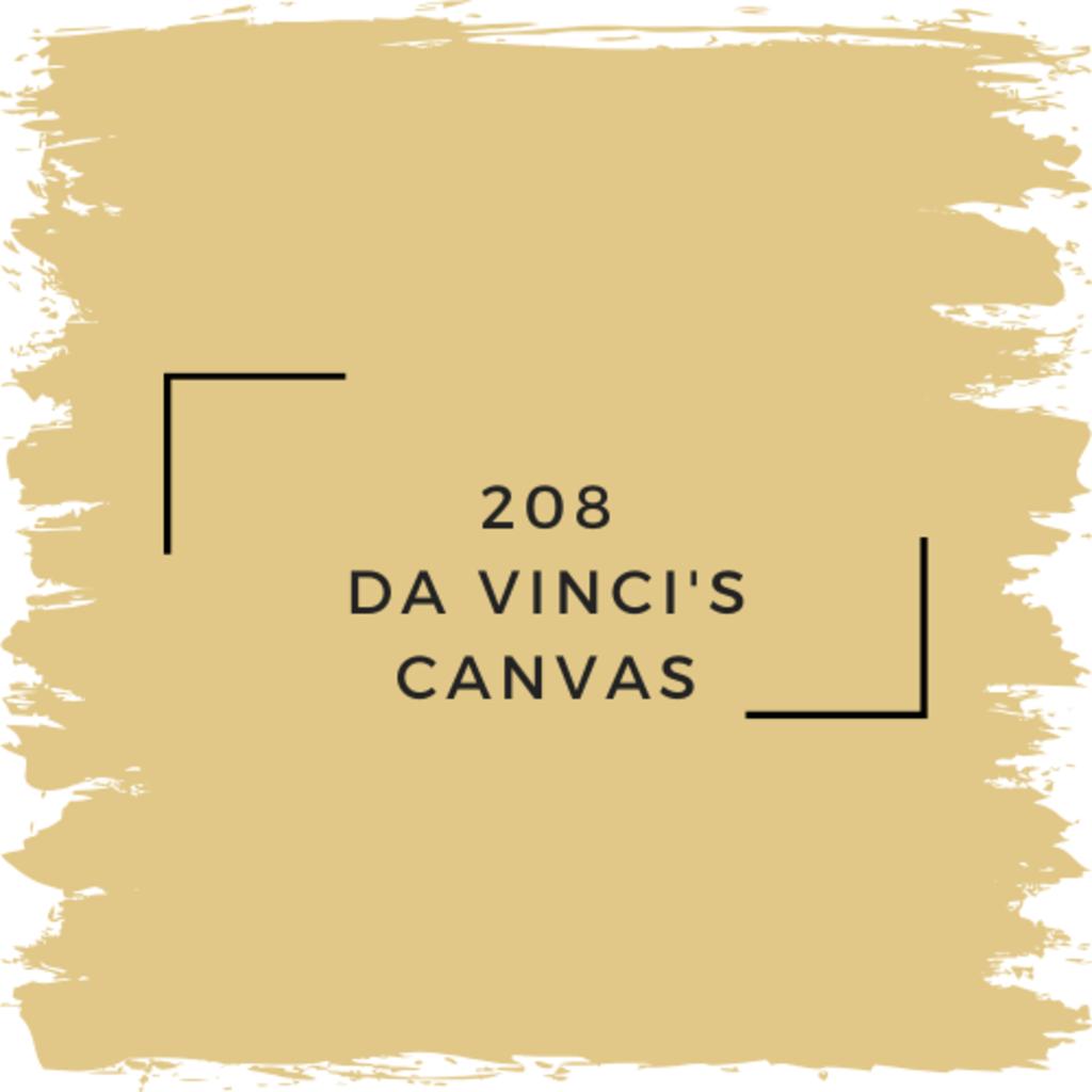 Benjamin Moore 208 Da Vinci's Canvas