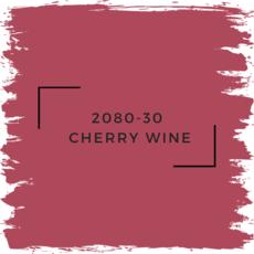 Benjamin Moore 2080-30  Cherry Wine