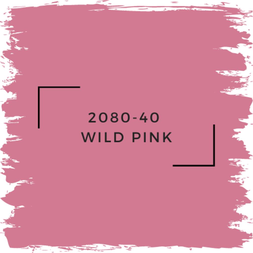 Benjamin Moore 2080-40  Wild Pink
