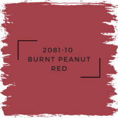 Benjamin Moore 2081-10  Burnt Peanut Red
