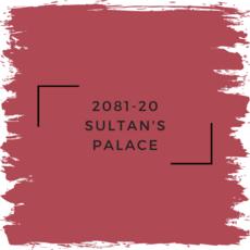 Benjamin Moore 2081-20 Sultan's Palace