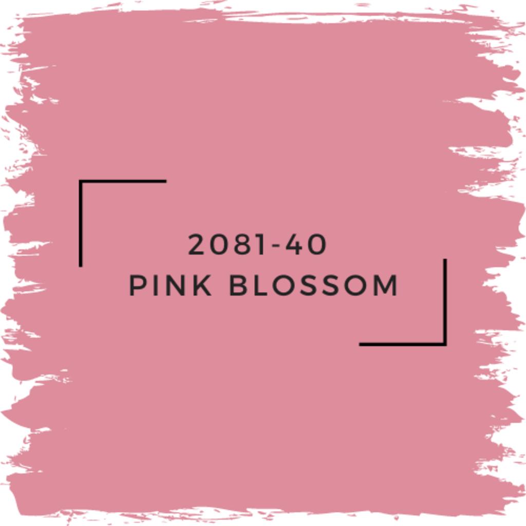 Benjamin Moore 2081-40  Pink Blossom