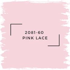 Benjamin Moore 2081-60  Pink Lace