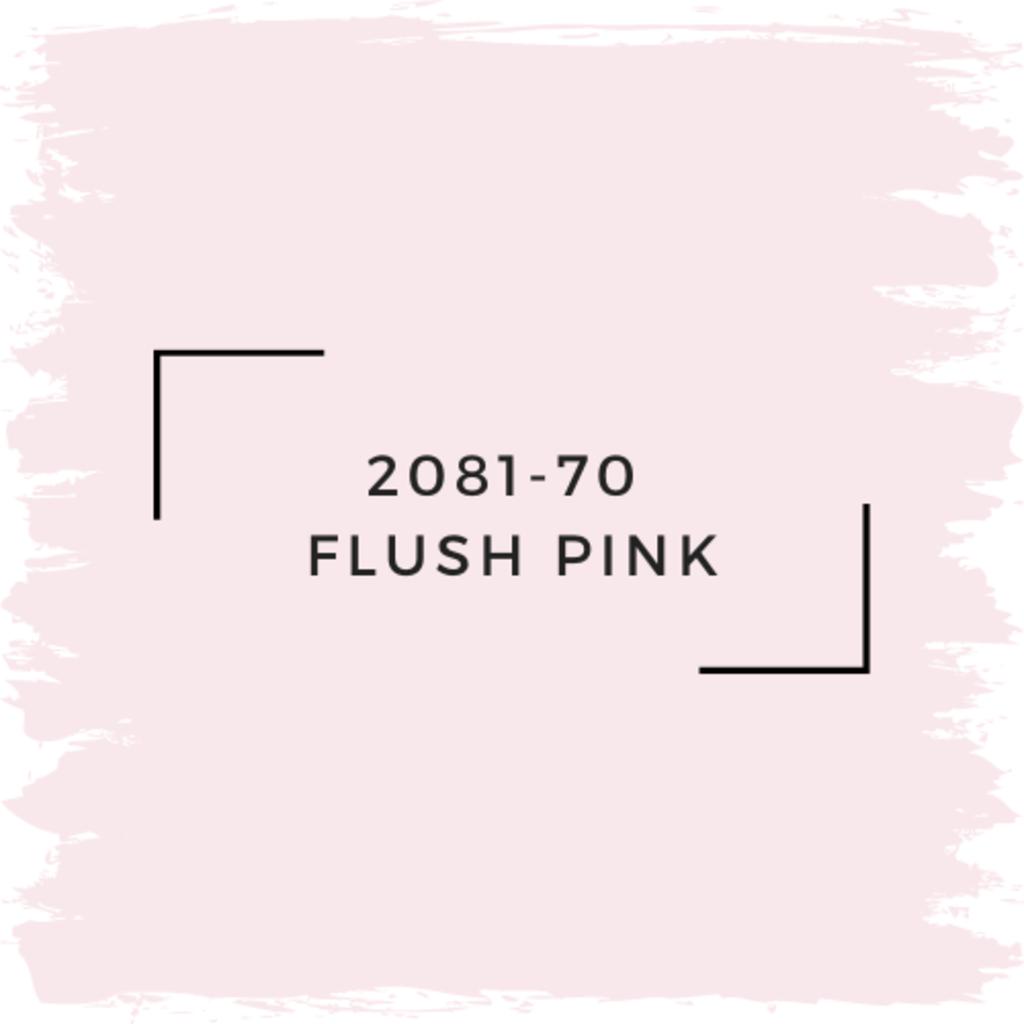 Benjamin Moore 2081-70  Flush Pink