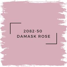 Benjamin Moore 2082-50  Damask Rose