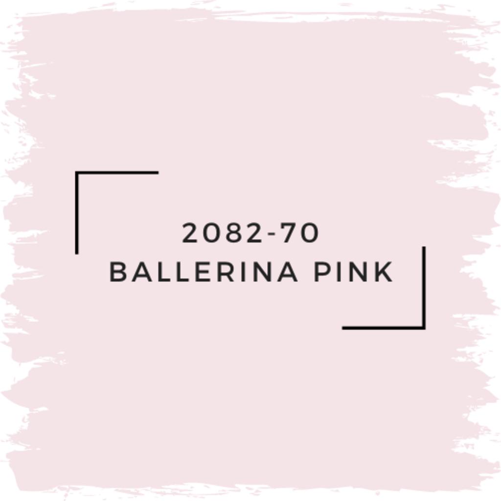 Benjamin Moore 2082-70 Ballerina Pink