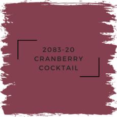 Benjamin Moore 2083-20 Cranberry Cocktail