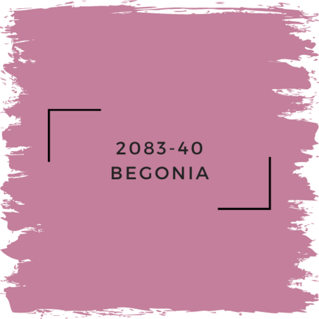 Benjamin Moore 2083-40 Begonia