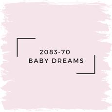 Benjamin Moore 2083-70  Baby Dreams