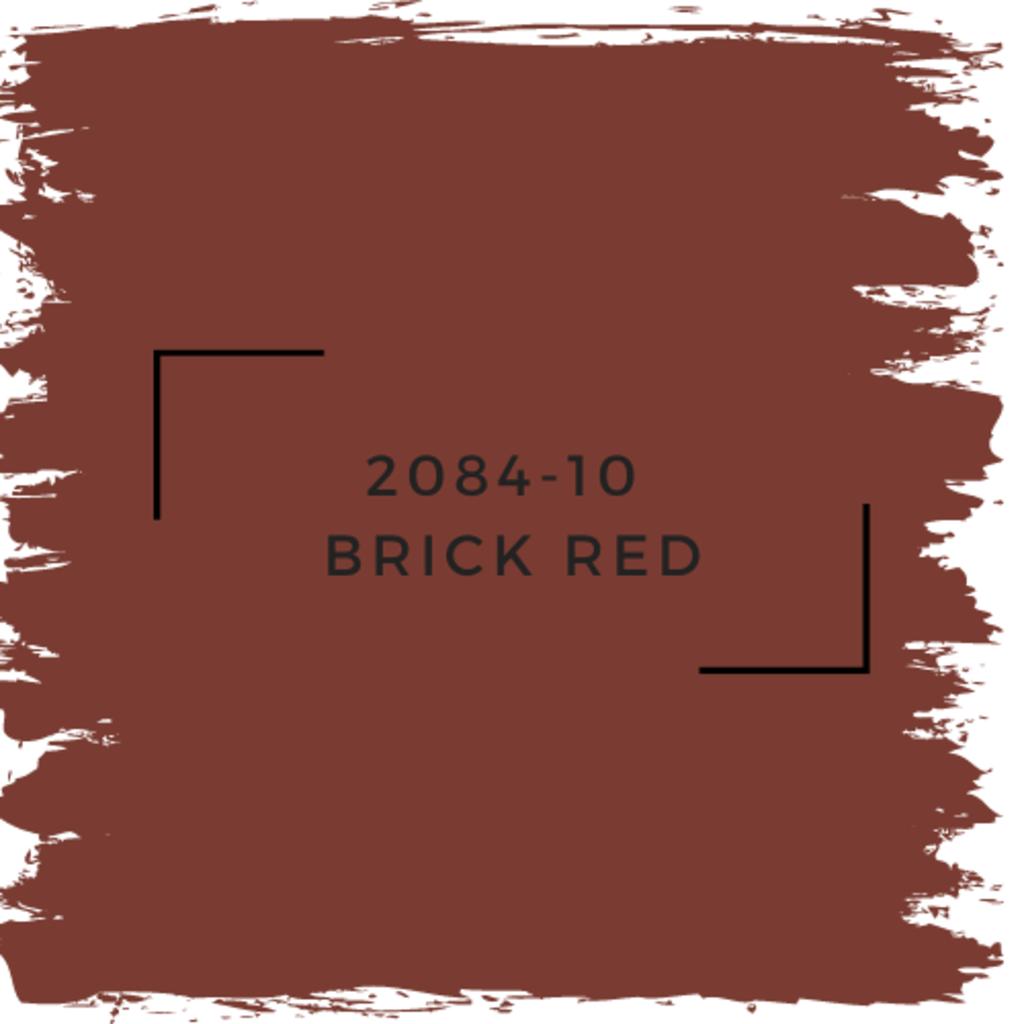 Benjamin Moore 2084-10  Brick Red