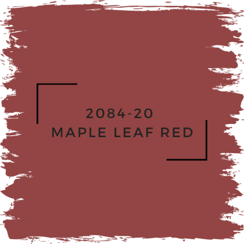 Benjamin Moore 2084-20  Maple Leaf Red