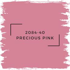 Benjamin Moore 2084-40 Precious Pink